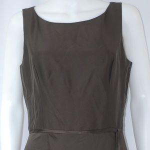 NWT Ann Taylor Brown Dress Sz 10